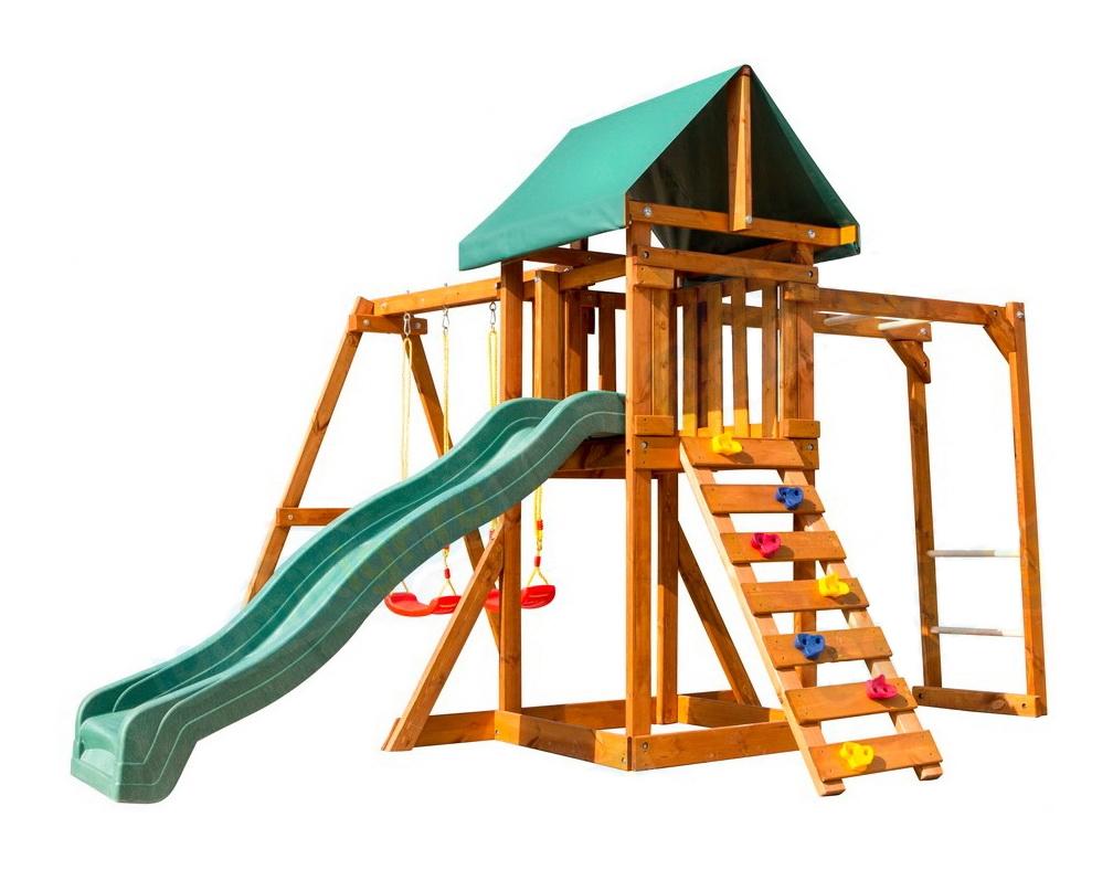деревянная площадка BabyGaden