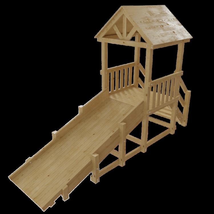 Двухъярусные деревянные кровати для детей 29