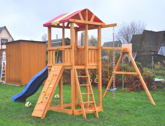 Детские комплексы на даче своими руками